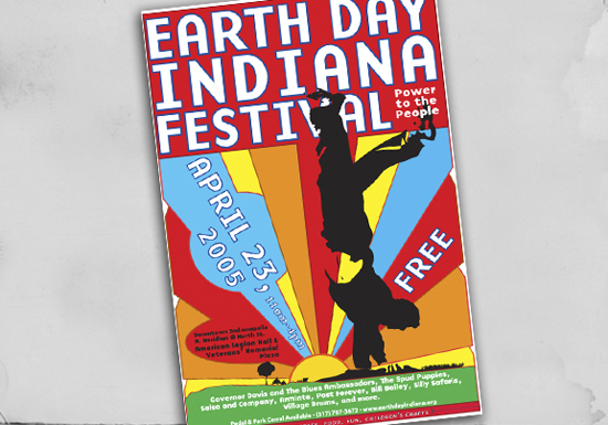 Earth Day Indiana Poster